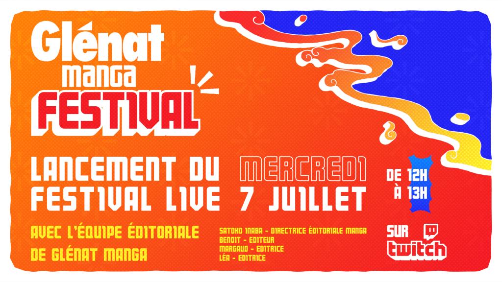 Lancement du festival live